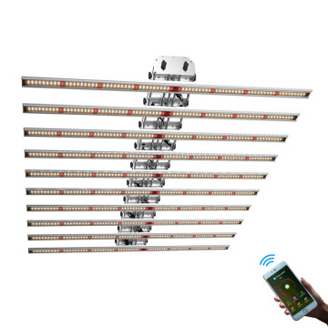 Phlizon Dimming LED Grow Light Bars 640W Faʻalauteleina le Malamalama