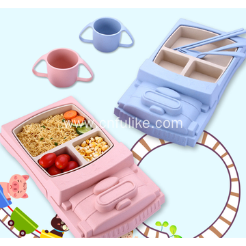 Colorful Children's Tableware Set Wholesale