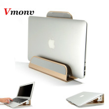 Vmonv Aluminum Alloy Firm Tablet PC Bracket Stand for Macbook Air Pro Retina 11 12 13 15 Vertical Base Cooling Laptop Stand