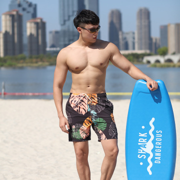 140GSM 4way Stretch Digital Print Man′s Swimshort