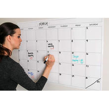 Large Dry Erase Monthly Wall Calendar Whiteboard