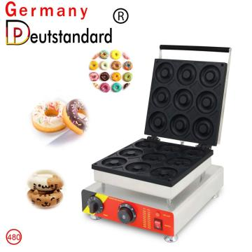mini donut shape waffle maker with high quality for sale