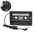 1PCs Universal Car Cassette Car Audio Cassette Tape Adapter Mp3 Player Converter for iPod MP3 CD DVD Cassette Recorders Players