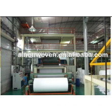 A.L 2017 latest design 1.6m S PP nonwoven fabric machine
