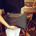 Men Women Trend Zip Purse Wristlet Handbag