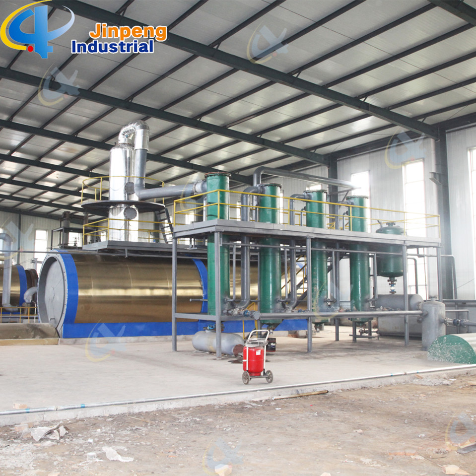 Batch Waste Motor Oil Recycling Plant