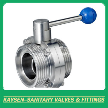 3A Hygienic Butterfly Valves Male end