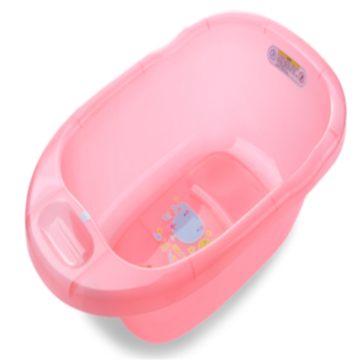Plastic Transparent Baby Soaking Bathtub Medium Size