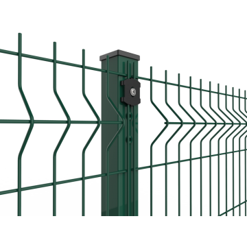 High Quality PVC Coating Triangle Bending Fence