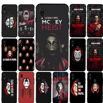 Money Heist House Mobile Phone Cover Case For Xiaomi Mi 6 8 A2 Lite 9 A3 9T Pro CC9E 5X 6X F1 9 SE luxury