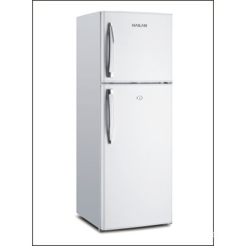 Kitchen Vegetable Fruit Double Door Fridge Refrigerator