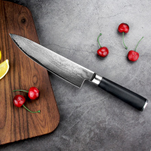 Fixed blade chef knives damascus steel