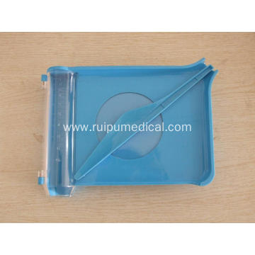 Factory Price Plastic Pill Counter Tray With Spatula