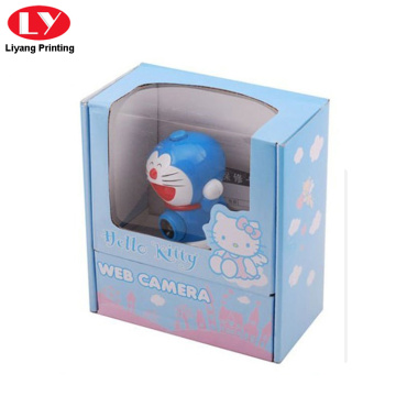 Corrugated paper toy paper packaging box