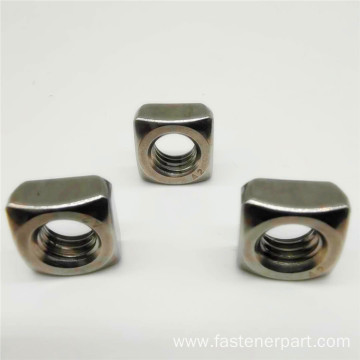 Stainless Steel Thin Square Slotted Castle Nut