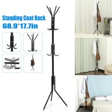 12 Hooks Metal Stand Coat Rack 175CM Adult Tree Hat Jacket Umbrella Cloth Hanger Holder Storage Rack Living Room Furniture
