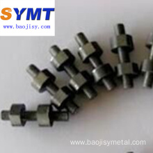 pure 99.95% molybdenum bolt bar /Machined parts