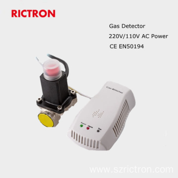 Security sensor gas leak alarm
