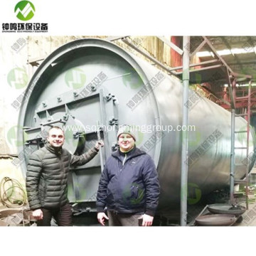 Tyre Pyrolysis Oil Refining Process Machine