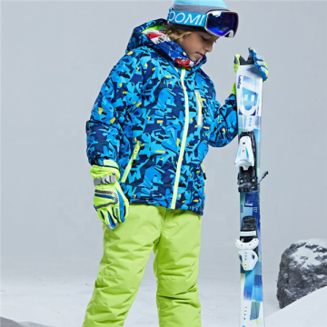 Boys Plus Size Ski Snow Jacket