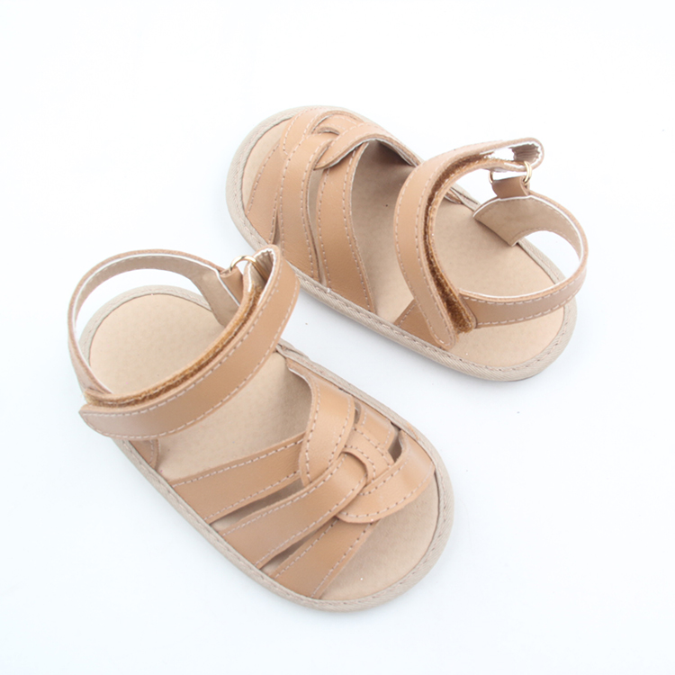 2018 Hot Sale Summer Brown Kids Sandals