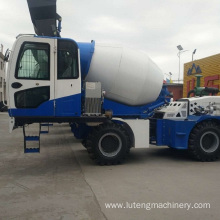 Discharging Concrete Mixing Truck on Sale 3.6m3