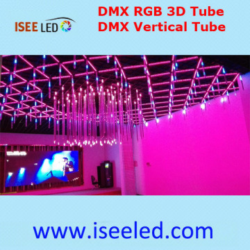 Madrix Control Music Activated 3D RGB Tube Light