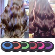 6 Colors Hair Dye Temporary Hair Chalk Powder Soft Salon Hair Color DIY Chalks for The Hair