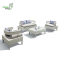 4pcs rattan UV-resistant and waterproof sofa