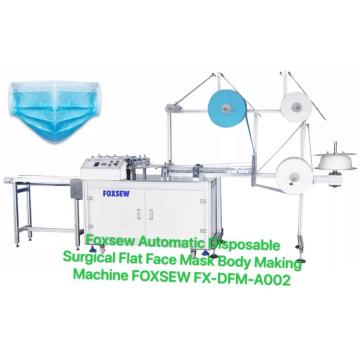 Automatic Disposable Surgical Face Mask Body Making Machine