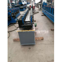 Steel tile roller shutter door slat making machine