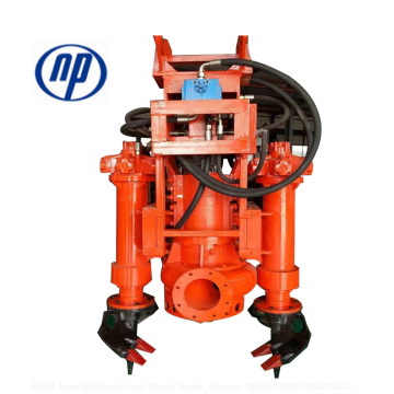 Agitator Submersible Slurry Pumps for sand dredging