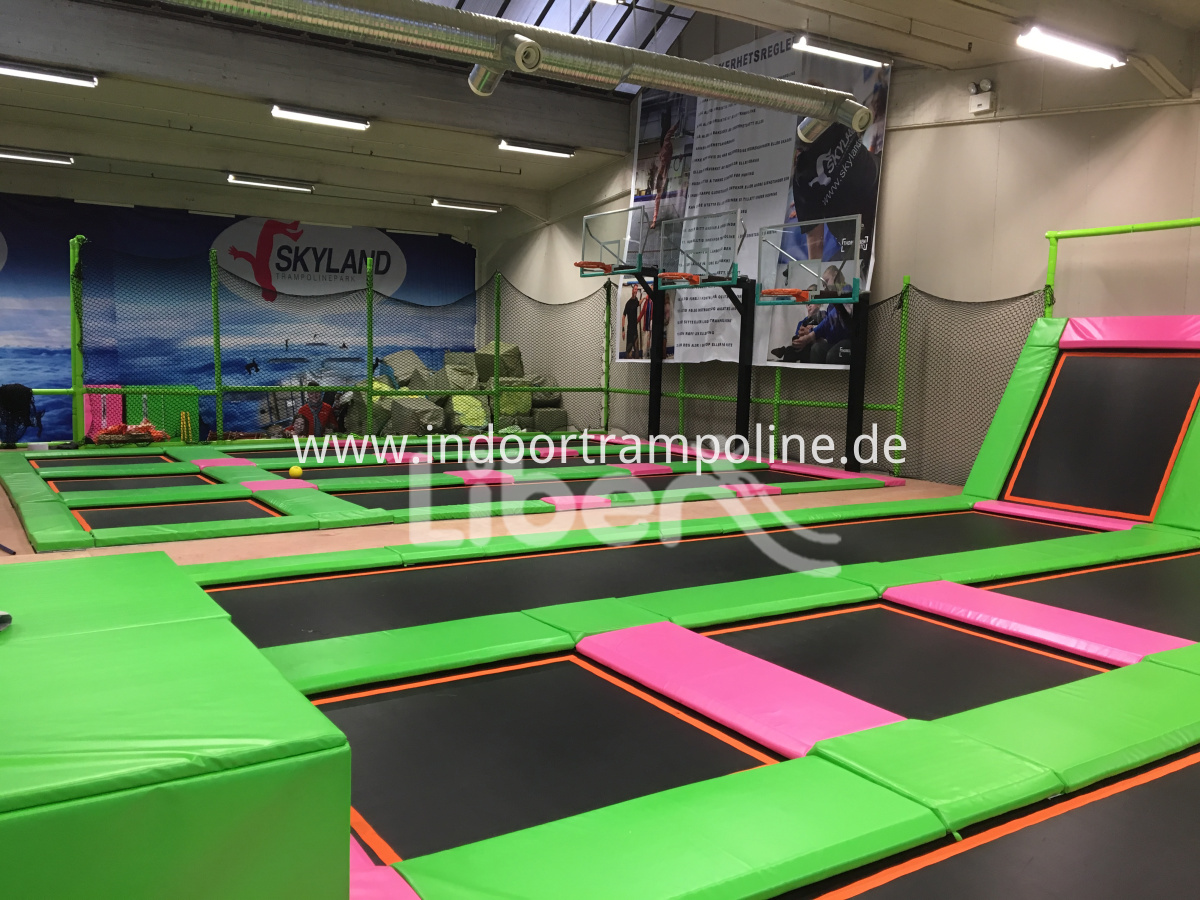indoor trampoline big