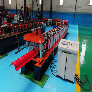 Ridge Cap Roll Forming Machine with Plc