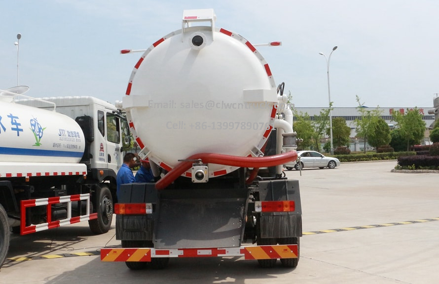 Waste Sewage Truck Price