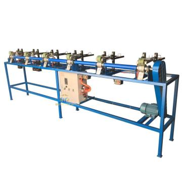Zipper tape loosen machine