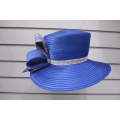 Ladies' Satin Ribbon Dress Church Couture hats