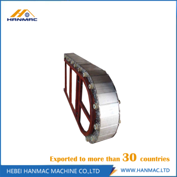 Steel Material Cable Drag Chain for Oil Tubes