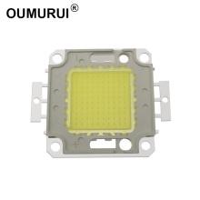 10W/20W/30W/50W/100W LED COB CHIP High Power Lamp Warm 3000k/White 6000k 24*40MIL Huga chips Free shipping 10pcs