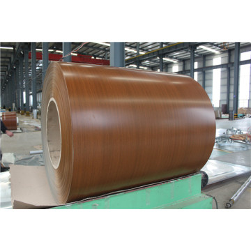 wood color  aluminum strip coil