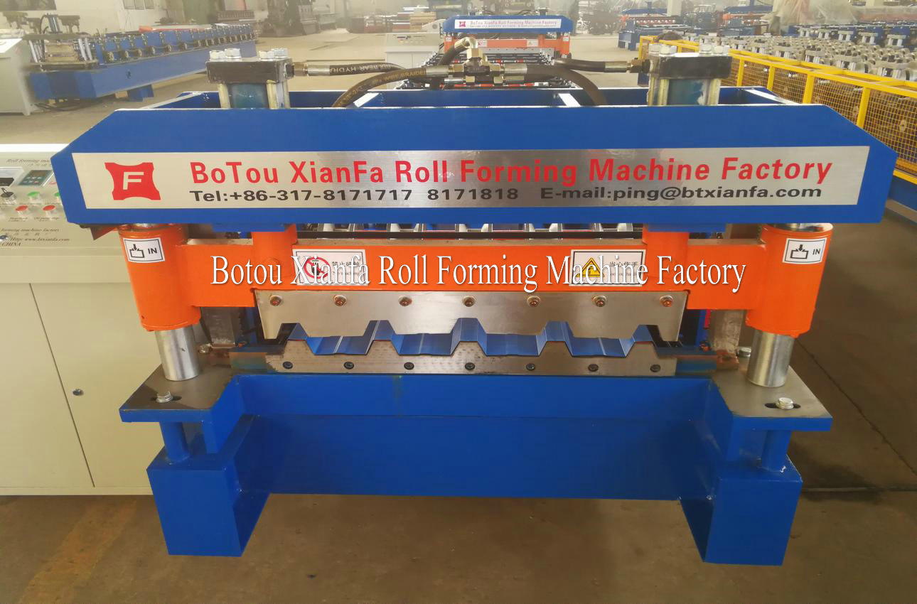 ibr roof tile machine