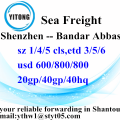 Shenzhen Sea Fregiht shipping to Bandar Abbas