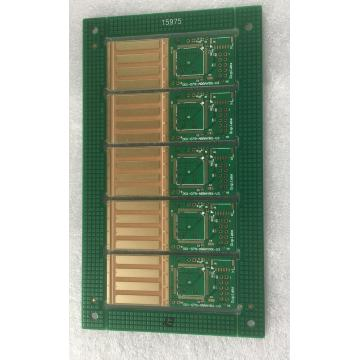 6 layer Green Solder blind vias PCB