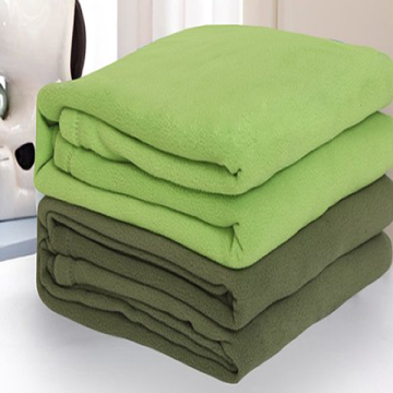 Sample free offer micro polar fleece throw blanket