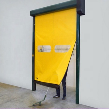 Facctory Price Zipper High Speed Industry Door