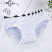 Women cotton underwear ladies lace boyshorts panties