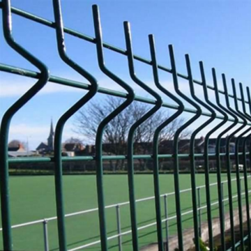 Fencing Panels Green Trellis Pvc Coated Security Electro Welded Wire Mesh Fence