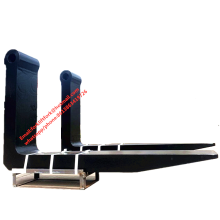 ISO standard forklift attachment fork