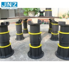 PP Material Decking Adjustable Plastic Pedestal