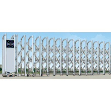 Electric Retractable Stainless Steel Sliding Gate